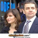 Rowan Atkinson and Sunetra Sastry - 454 x 345
