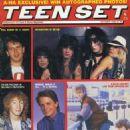 Vince Neil, Tommy Lee, Nikki Sixx, Mick Mars, Morten Harkett, John Taylor, Michael J. Fox, Julian Lennon & Kirk Cameron - 454 x 631