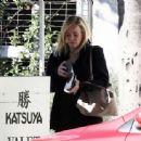 Chelsea Handler – Leaving Katsuya restaurant in LA - 454 x 338