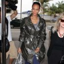 Tyra Banks Arrives For A Flight At LAX