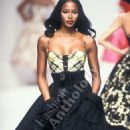 Naomi Campbell for Valentino, Chanel and Mugler