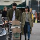 Lucy Hale and Anthony Kalabretta Shopping together in LA January 16, 2017