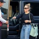Hilary Duff – Leaves Il Pastaio in Beverly Hills