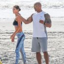Dwayne Johnson- March 28, 2016-The Set of Baywatch - 454 x 544