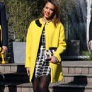 Jessica Alba – Kenzo show during Paris Fashion Week (March 2, 2014)