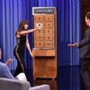 Jessica Biel on 'The Tonight Show Starring Jimmy Fallon' in New York