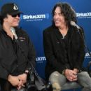 Kiss attends SiriusXM's Town Hall with KISS on October 29, 2018 in New York City - 454 x 315