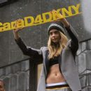 Cara Delevingne Launch Of Cara D For Dkny Capsule Collection At Bloomingdales In New York