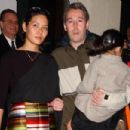 Adam Yauch and Dechen Wangdu with daughter Tenzin Losel