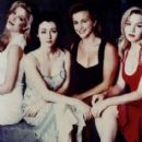 Shannen Doherty, Jennie Garth, Tori Spelling and Gabrielle Carteris in Beverly Hills,90210´s Photoshoot. - 414 x 493