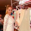 Genevieve Morton Justfab Ready To Wear Launch Party In West Hollywood