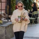 Hilary Duff at Melrose Place in West Hollywood