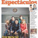 Rodrigo De la Serna, Carla Peterson, Gloria Carrá, Paola Krum, Fernán Mirás - Clarin Magazine Cover [Argentina] (26 August 2012)