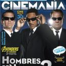 Will Smith, Tommy Lee Jones - Cinemanía Magazine Cover [Mexico] (May 2012)