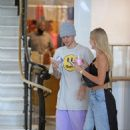 Hailey Baldwin and Justin Bieber – Shopping at Barney's New York in Los Angeles