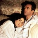 Armand Assante and Sherilyn Fenn