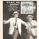 JACKIE GLEASON, WALTER PIDGEION IN THE 1959 BROADWAY MUSICAL ''TAKE ME ALONG'' - 231 x 320