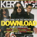 Slash, Ville Valo, Ozzy Osbourne - Kerrang Magazine Cover [United Kingdom] (11 June 2005)