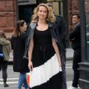 Anna Camp – Outside the Build Studio in New York City - 454 x 681