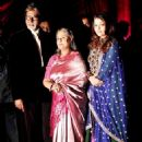 Bachchans at Riteish Deshmukh- Genelia D'Souza Wedding Reception