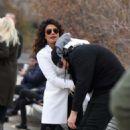Priyanka Chopra – Filming 'Quantico' set in New York - 454 x 738