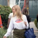 Gwyneth Paltrow – Leaves a business meeting in LA
