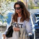 Maria Shriver spends time out and about in Brentwood, California on January 08, 2016 - 433 x 600