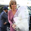 Lisa Rinna – Arriving at Andy Cohen's baby shower in Beverly Hills - 454 x 673