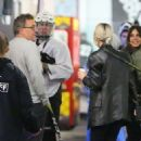 Selena Gomez – Supports Justin Bieber at his hockey game in Van Nuys