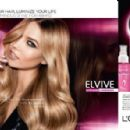 Karlie Kloss for L'oreal Elvive 2015 ad campaign