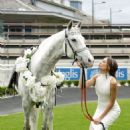 Rachael Finch 2014 Sydney Spring Carnival At Royal Randwick Racecourse In Australia
