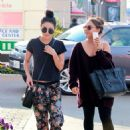 Vanessa Hudgens Street Style Out In Studio City