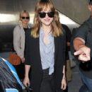 Dakota Johnson Arrives on a Flight at LAX (July 21, 2016)