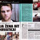 Nathaniel Buzolić  -  Magazine Layout