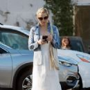 Kate Hudson in Long Dress at the Electric Lodge in Venice