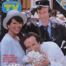 Roberto Benigni, Claudia Cardinale - TV Sorrisi e Canzoni Magazine Cover [Italy] (26 July 1992)