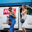 Kara and Hannah Tointon – Shopping in London - 454 x 605