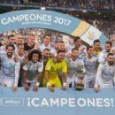 Real Madrid v FC Barcelona - Supercopa de Espana: 2nd Leg - 454 x 293