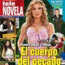 Marjorie De Sousa, Amores verdaderos - Tele Novela Magazine Cover [Spain] (22 October 2012)