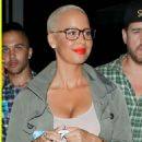Amber Rose attends Beyonce and Jay Z's 'On The Run' Concert at the Rose Bowl in Pasadena, California - August 3, 2014