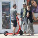 Emma Watson – Out for lunch at double-zero pizza in Venice