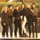 Kourtney Kardashian and Larsa Pippen – Ice skating in Los Angeles - 454 x 303