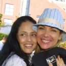 Kim Cattrall and Sonia Braga