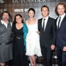 Sam Heughan,Caitriona Balfe, Tobias Menzies, the Writer Diana Gabaldon and the producer Ronald D.Moore - 'OUTLANDER' SCREENING IN NYC - 454 x 328