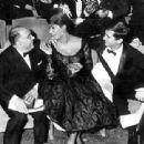 Anthony Perkins, Sophia Loren, Carlo Ponti