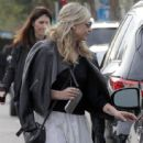 Actress and busy mom Sarah Michelle Gellar is spotted out and about in Santa Monica, California with a friend on January 13, 2016