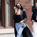 Irina Shayk – Seen out in NYC