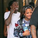 Christina Milian and Lil Wayne fuel romance rumours as they're spotted together again for the SECOND day in a row
