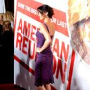 Shannon Elizabeth arrives at American Reunion at Grauman's Chinese Theatre on March 19, 2012 in Hollywood