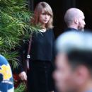 Taylor Swift Leaving A Studio In Beverly Hills